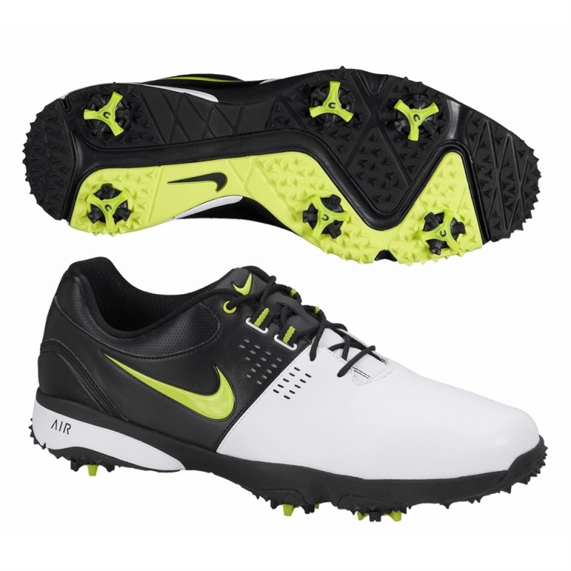 Nike Air Rival III Golf Shoes - White / Black / Green