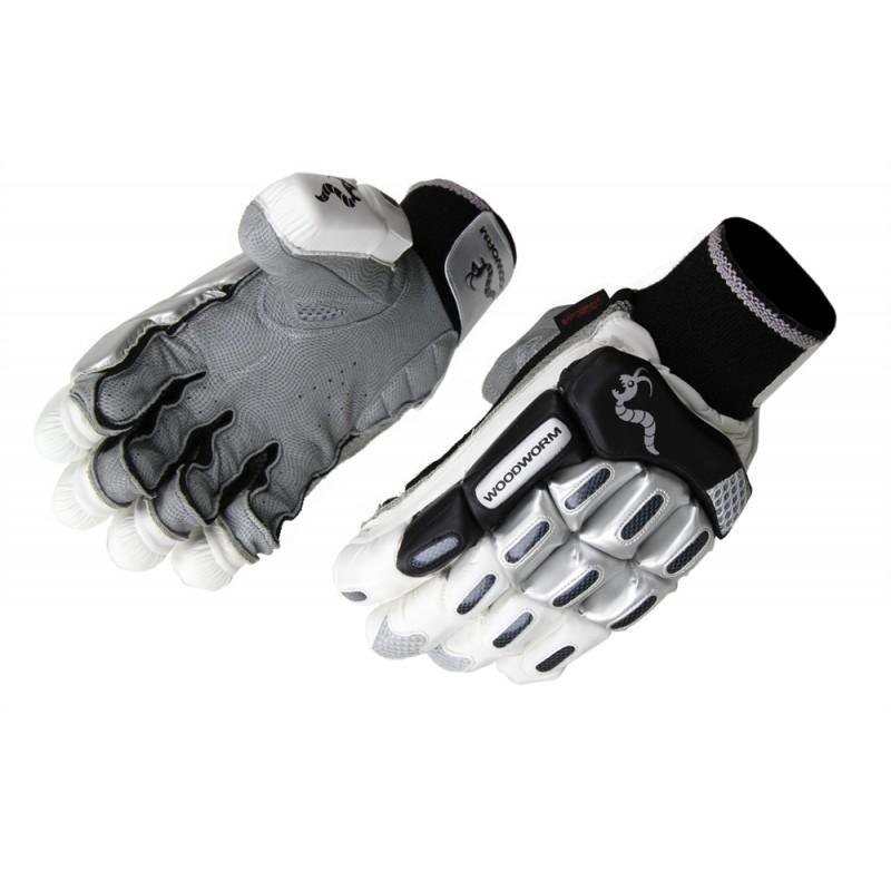 Woodworm Cricket Black Label Batting Gloves