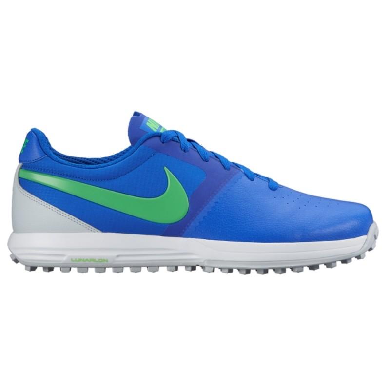 Nike Lunar Mont Royal Golf Shoes - Blue / Green / Platinum