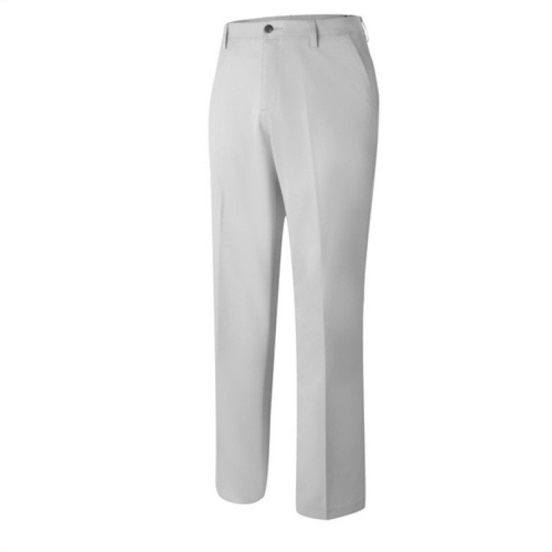 Adidas Mens Flat Front Contrast Trousers