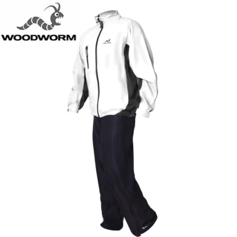 Woodworm Golf Waterproof Suit - White