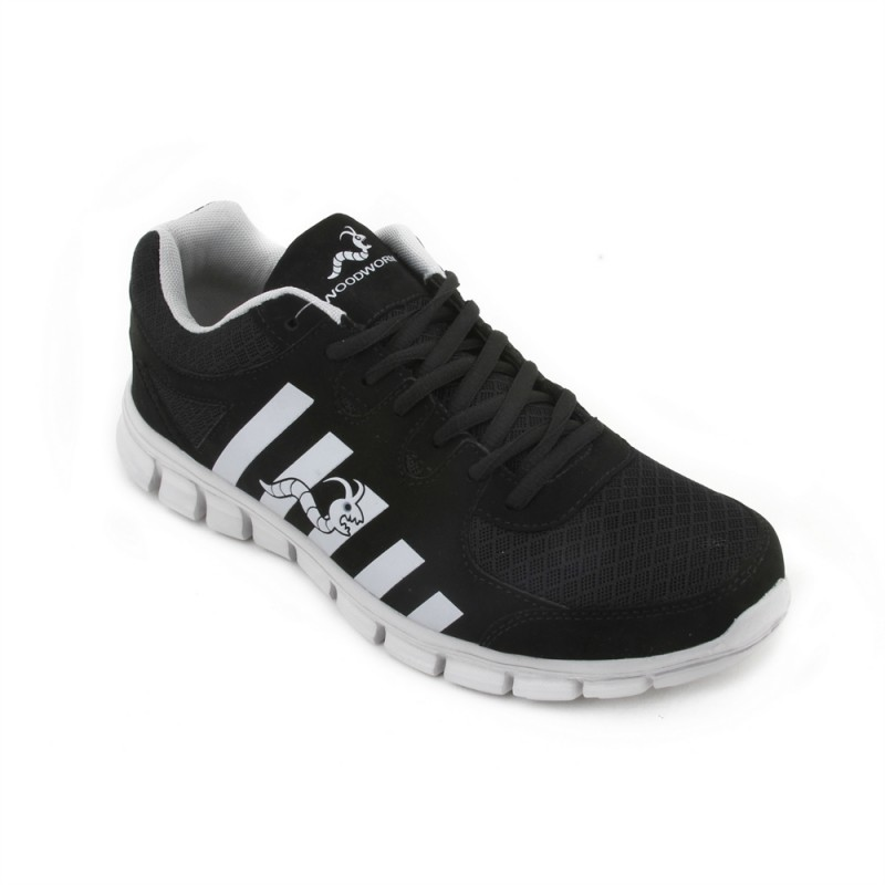 Woodworm CTG Mens Running Shoes / Trainers - Black