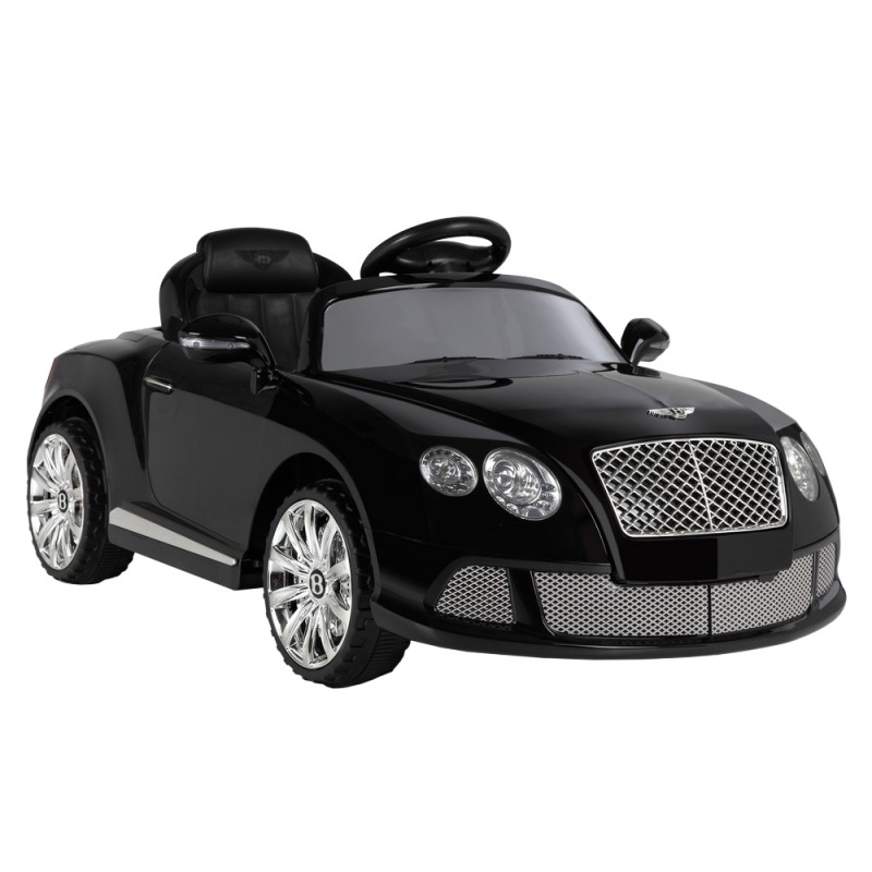 EX-DEMO Bentley Continental GTC by ZAAP Ride-On Car Black
