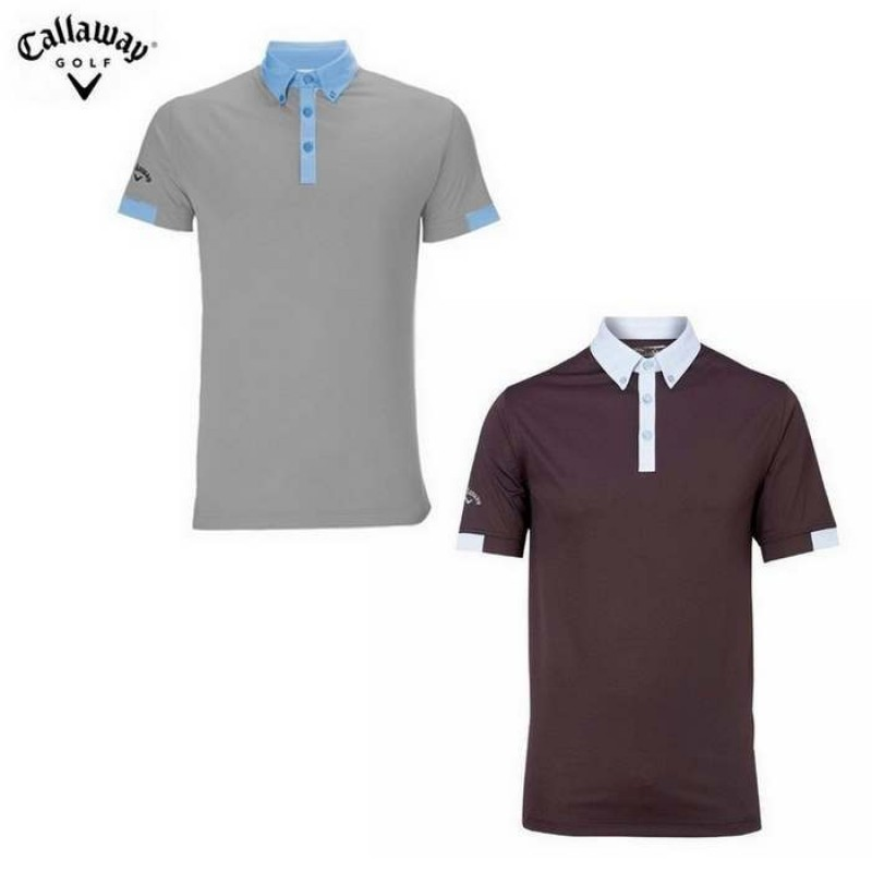 Callaway Viktor Polo Fashion Collar / Sleeve
