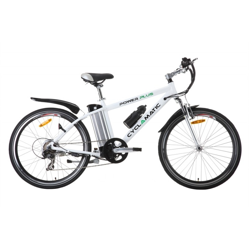 Ex-Demo Cyclamatic Power Plus Electric Bike White