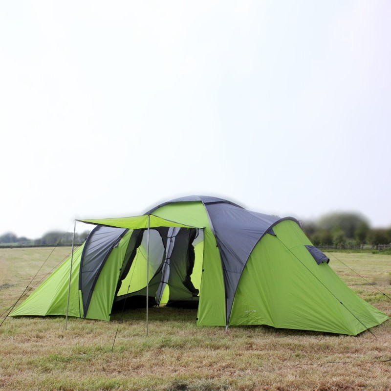 North Gear Deluxe Waterproof 8 Man Tent