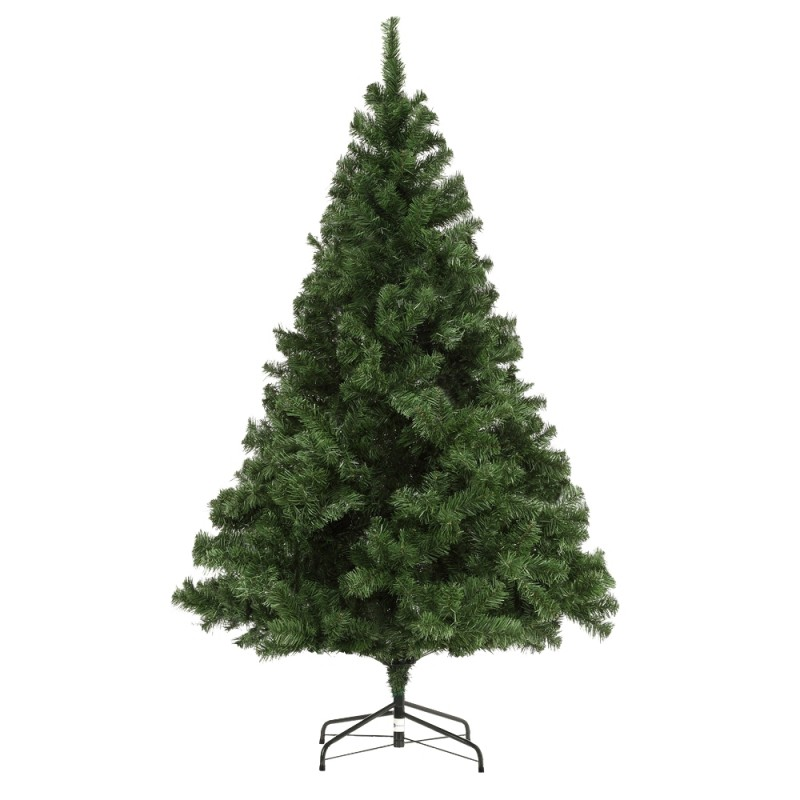 Homegear Luxury 1000 Tip 6 Foot Artificial Christmas Tree with Metal Stand