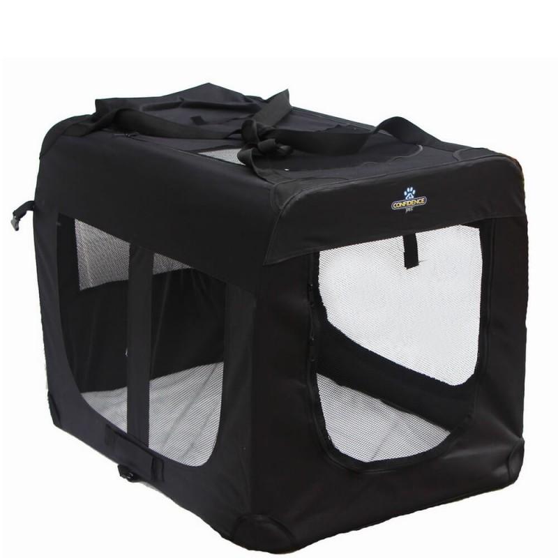 Confidence Pet Portable Folding Soft Dog Crate - Medium