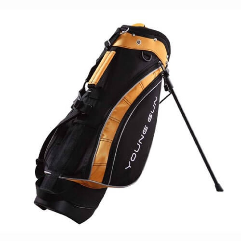New Young Gun Deluxe Stand Bag - Yellow(3-5)