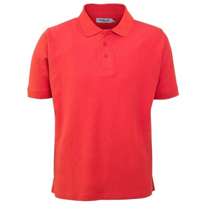 ProQuip Deluxe Cotton Pique Polo Red