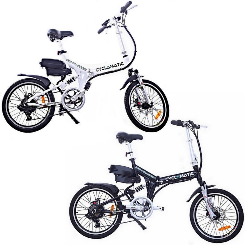 Cyclmatic CX4 Pro Folding Electric Bike