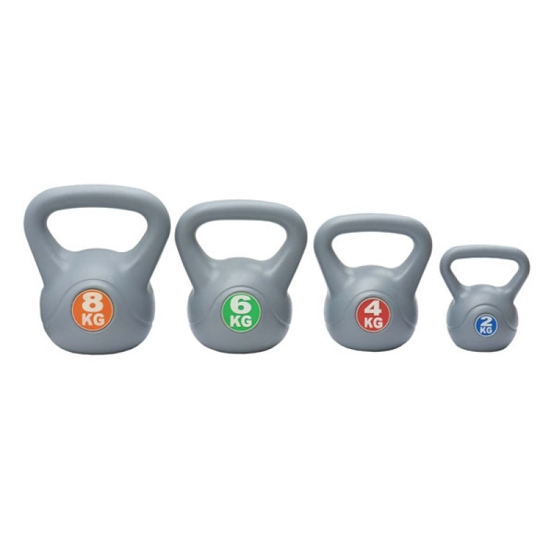 EX-DEMO Confidence Kettlebell 4pc Training Set