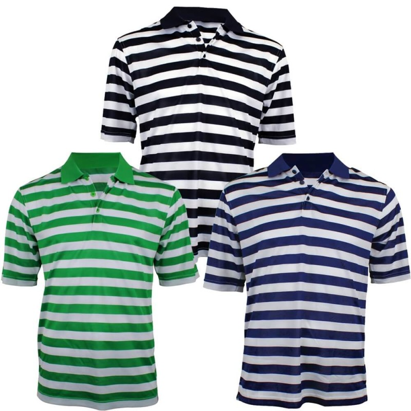 Woodworm Pro Striped Polo 3 Pack
