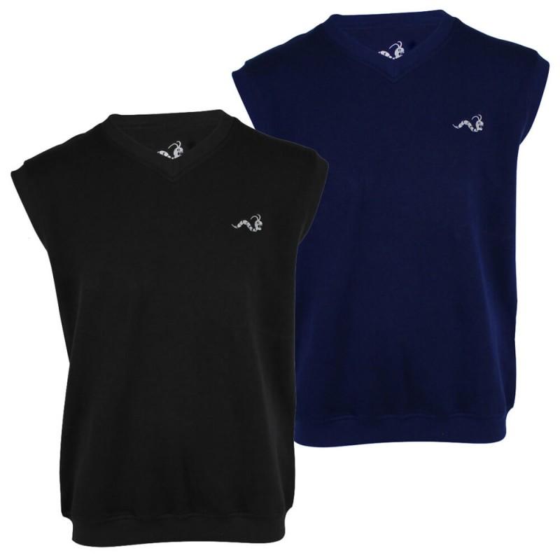 Woodworm sleeveless jumper 2 pack