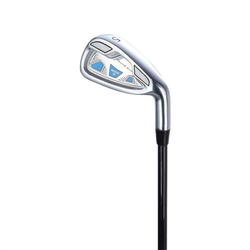 Young Gun Junior Irons - Left Hand - Sand Wedge - Blue Ages 6-8