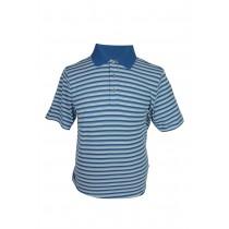 Ashworth Mens Striped Polo Shirt