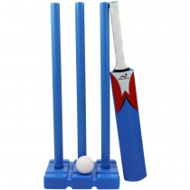 Woodworm Junior Plastic Cricket Set