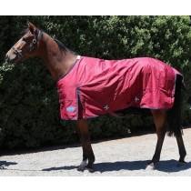 Barnsby 1200D Equestrian Waterproof Horse Winter Blanket / Turnout Rug - Standard Neck Plum