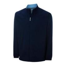 Ashworth Mens Long Sleeve Full Zip Windshirt