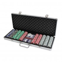 CQ Poker 500 High Roller Numbered Poker Chips