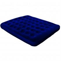 North Gear Queen Flocked Air Bed Mattress