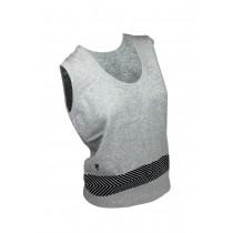 Ashworth Ladies Round Neck Vest With Print