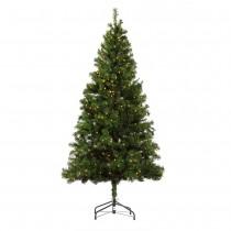 Homegear 6ft Pre-lit Artificial Christmas Tree
