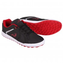 Woodworm Surge V2.0 Golf Shoes - Black / Red