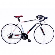 North Gear 901 Road Bike with Shimano Components White / Red