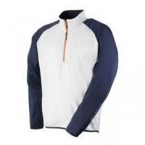 Stuburt Bonded Layer Fleece - White / Navy