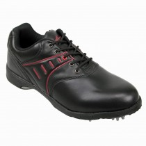 Confidence Golf Leather Waterproof Shoes - Black