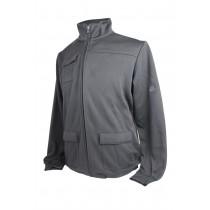 Adidas Mens Full Zip Knit Novelty Jacket - Black Large