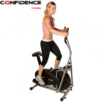 Confidence 2 in 1 Elliptical Cross Trainer & Bike