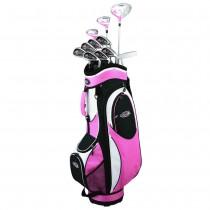 GolfGirl FWS2 Golf Clubs Set + Bag (11 clubs) - Left Hand