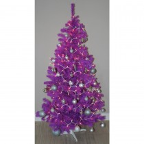 Homegear 6ft Purple Artificial Christmas Tree