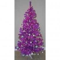 Homegear 6ft Purple Artificial Christmas Tree