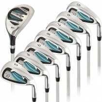 Ram Golf EZ3 Ladies Right Hand Iron Set 5-6-7-8-9-PW-SW - HYBRID INCLUDED