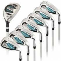 Ram Golf EZ3 Ladies Petite Right Hand Iron Set 5-6-7-8-9-PW-SW - HYBRID INCLUDED