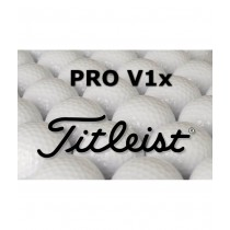 12 Titleist Pro V1x Refinished Lake Balls