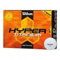 12 Wilson Hyper Titanium Straight Distance Balls