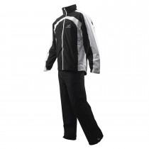 Woodworm Golf Waterproof Suit - Black/White