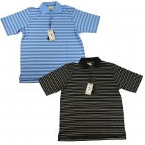 Woodworm Golf Striped Tour Golf Polo Shirt 2 Pack