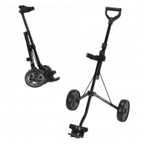 Young Gun Kids Adjustable Golf Trolley for Junior Golfers 3-14 Years Old Black