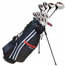 Prosimmon X9 V2 Golf Set with Graphite/Steel Shaft Clubs and Bag – Mens Right Hand