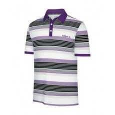 Adidas Mens Striped Polo