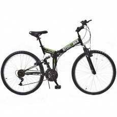 Stowabike Folding MTB V2 Mountain Bike Black / Green
