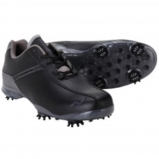Woodworm TFG Waterproof Golf Shoes Black / Grey
