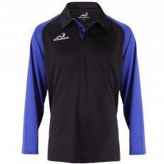 Woodworm Pro Cricket Long Sleeve Shirt Royal Blue