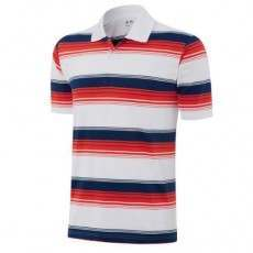 Adidas Puremotion Merch Stripe Polo - Red