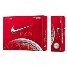 Nike RZN Red 1 Dozen Golf Balls - Red Longer Carry